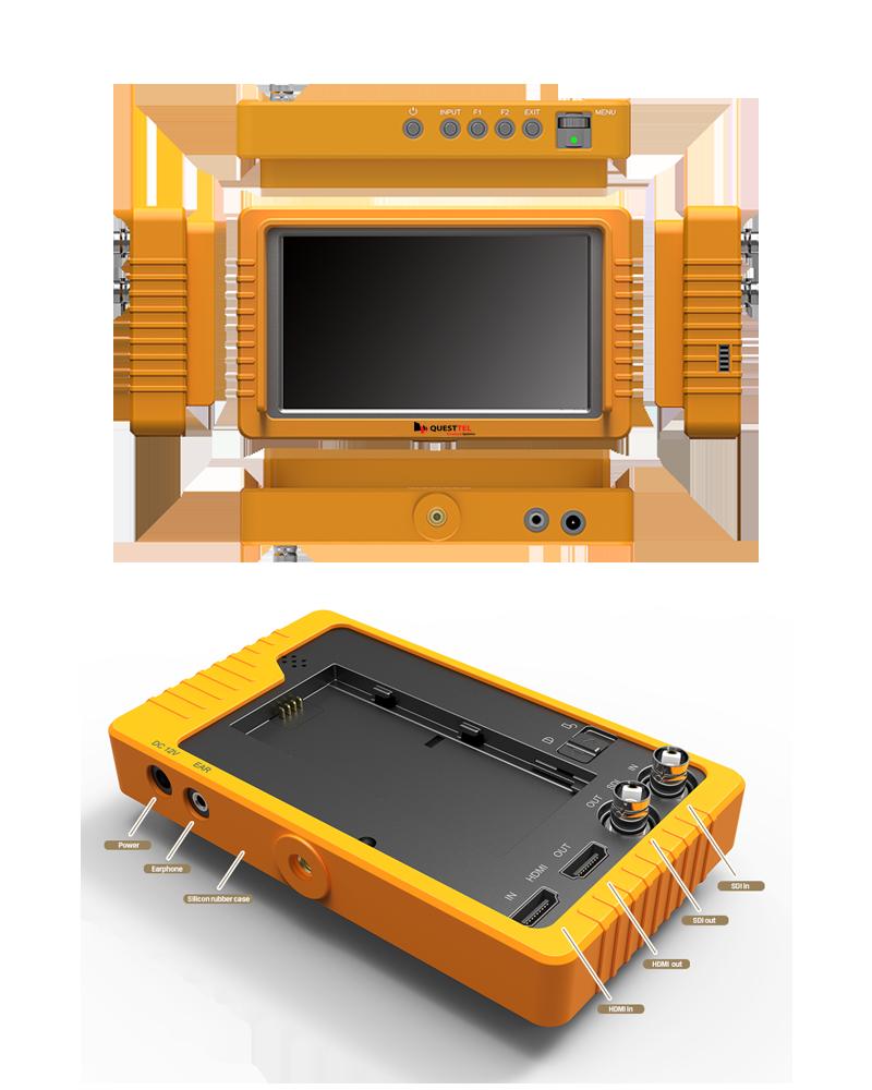 "5.5"" FHD 3G-SDI/HDMI Monitor with SDI and HDMI cross conversion's Application Drawing"