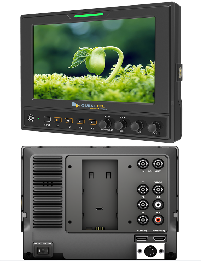 3G-SDI/HDMI/YPbPr & CVBS Inputs Pro Broadcast Monitor 's Application Drawing