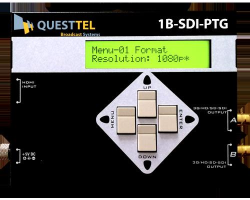3G/HD/SD-SDI Signal Pattern <br>Generator
