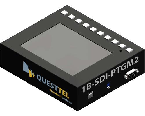 3G-HD/SD SDI Monitor with Video Processing Support