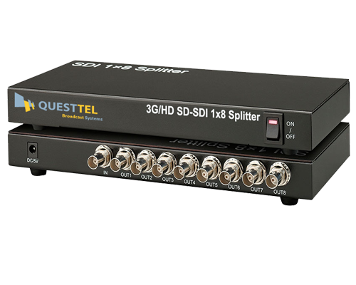 3G/HD-SDI 1x8 Splitter Amplifier