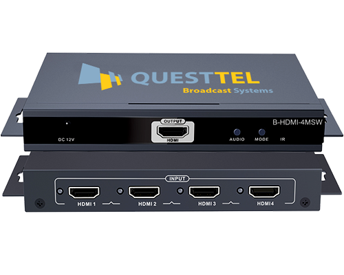 HDMI Multiswitch Converter - 4 HDMI to 1 Display