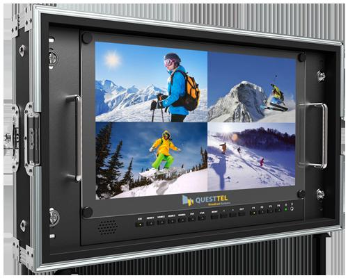 Carry-on 3G-SDI/4K-HDMI monitor