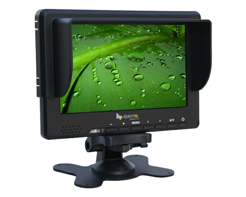 "7"" 3G-SDI Monitor - 7 16:9 LED with 3G-SDI, HDMI, YPbPr, CVBS"