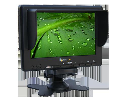 "7"" 3G-SDI Monitor - 7 16:9 LED with 3G-SDI, HDMI, YPbPr, CVBS"