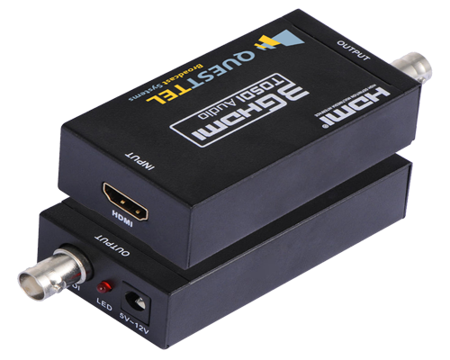 HDMI to 3G/HD/SD SDI Converter