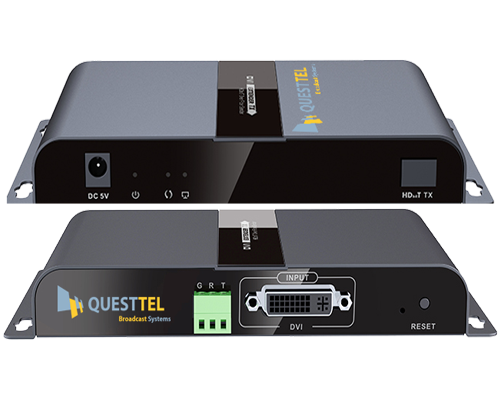 1 Channel DVI Over Fiber Transmitter and Receiver Kit