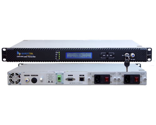 CATV 4 mW RF Optical Transmitter 45-750/862/1003 MHz