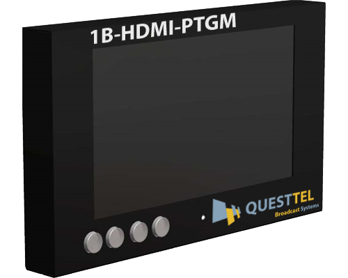 4K/2K/3G & 3D HDMI Pattern Generator with 7'' LCD